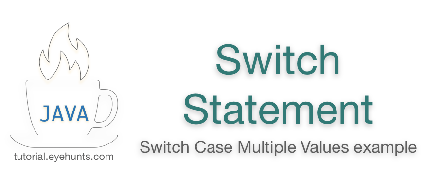 How To Use Switch Case In Java With Example Case Being Used Example