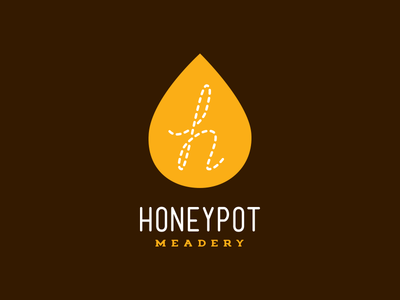 Honey Pot Meadery Honey Drop Logo
