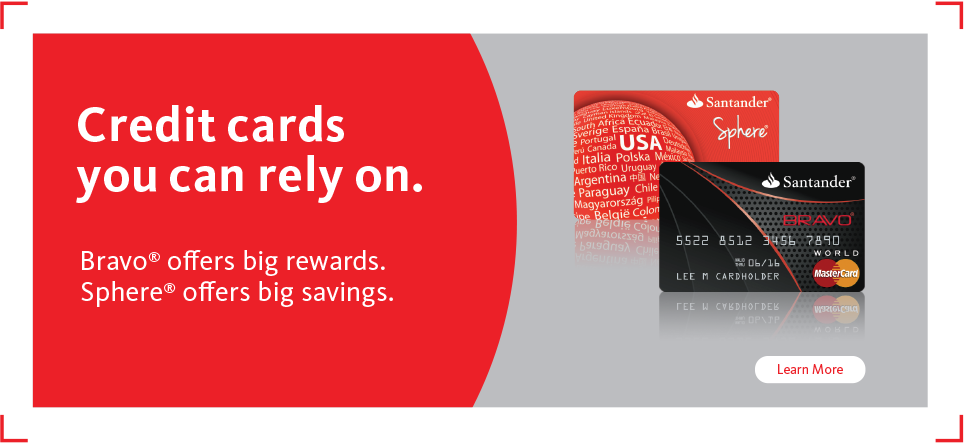 Santander Credit Card Learn More  Bank