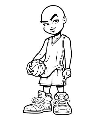 Basketball Coloring Sheets Free And Printable Colouring For