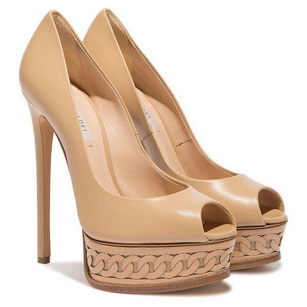 320d948241 Casadei Platforms (63,385 INR) ❤ liked on Polyvore featuring shoes, pumps, platform  pumps, high heel platform shoes, embellished shoes, peep toe platform ...