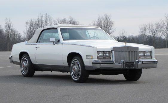 1984 Cadillac Eldorado Convertible Hubbys Back In The Day Cars