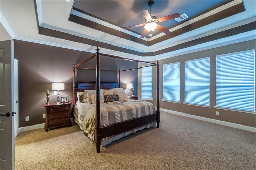 Painted Single Tray Ceilings Google Search Tray Ceiling
