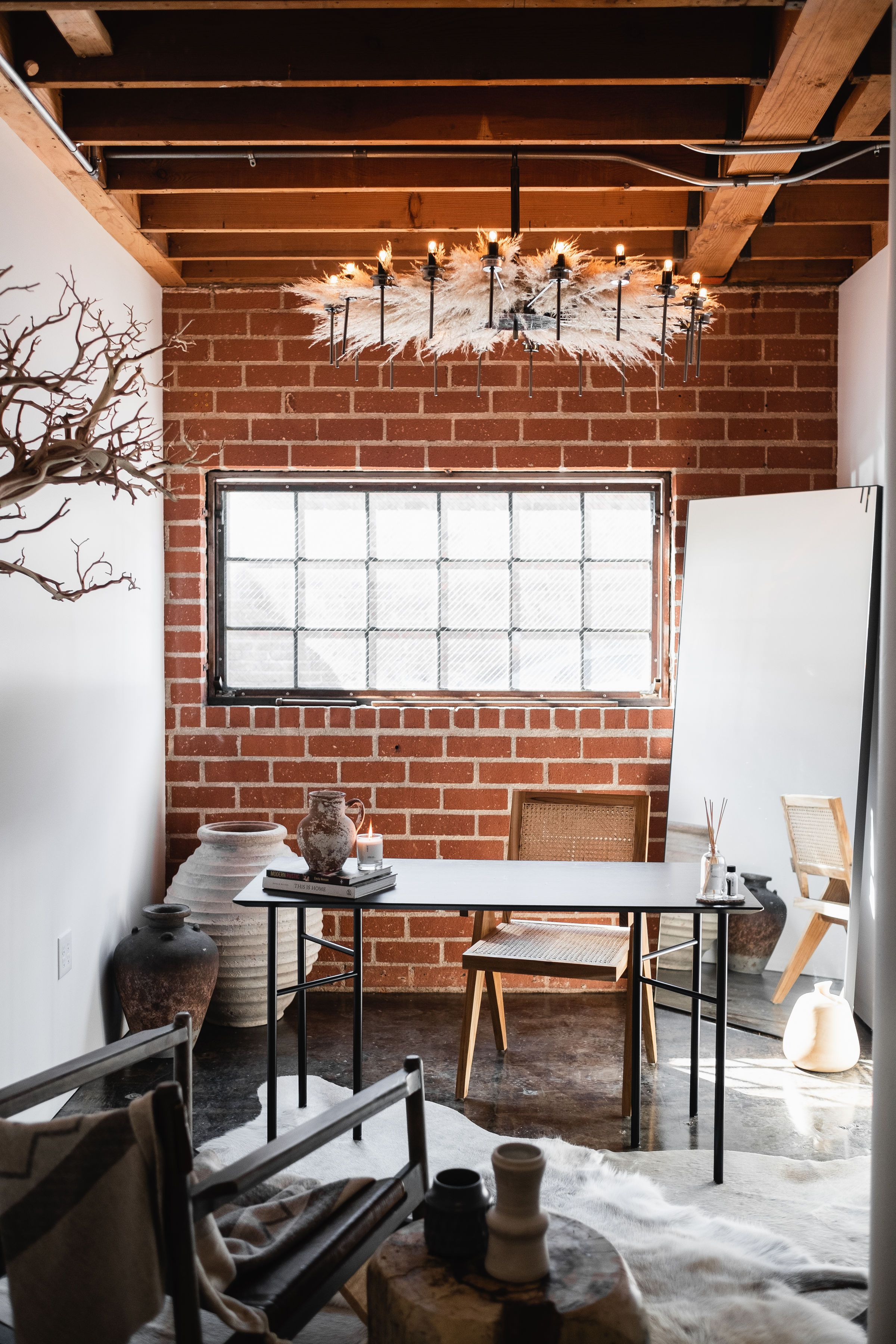 Industrial Modern With A Touch Of Rustic Natural Elements