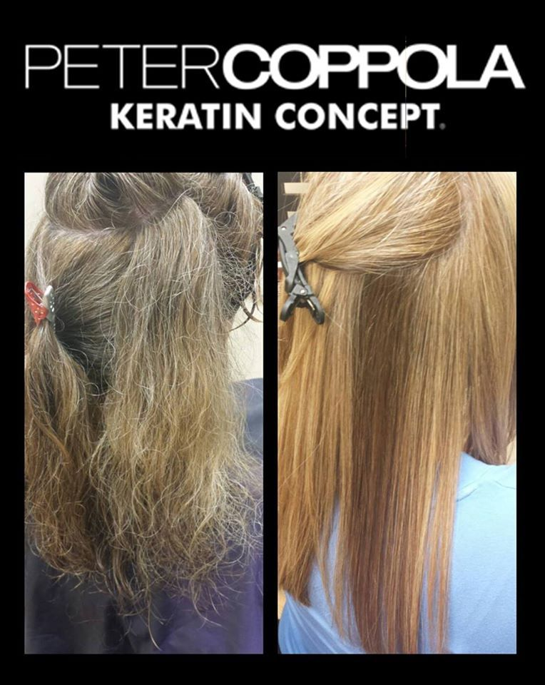 Pin by Coppola Beauty LLC on Keratin Treatment Before