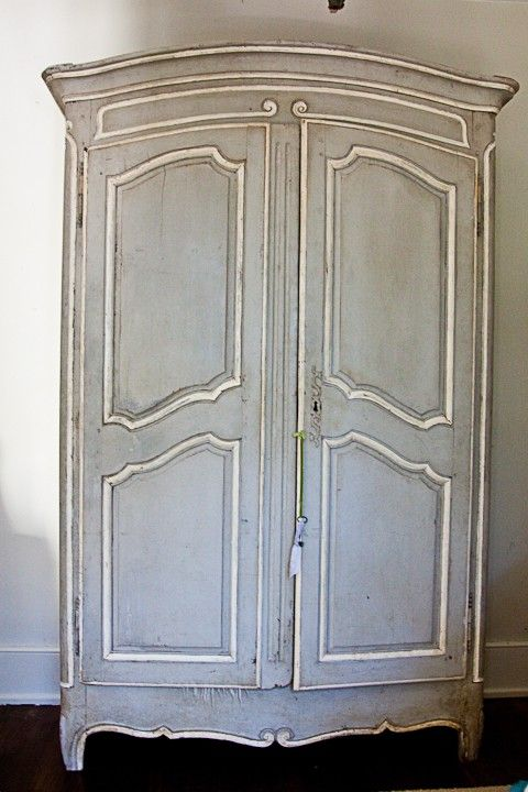 Annie Sloan Chalk Paint Armoire