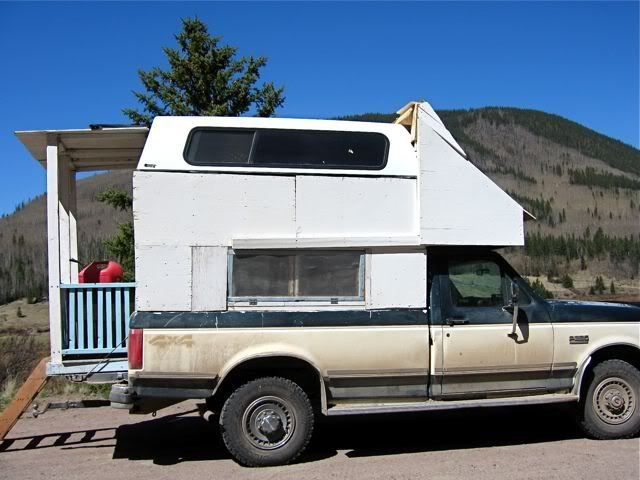 home built truck camper plans rvnet open roads forum truck campers looks like home made - Home Built Truck Camper Plans