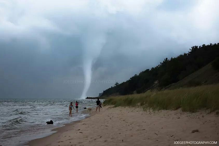 August waterspout