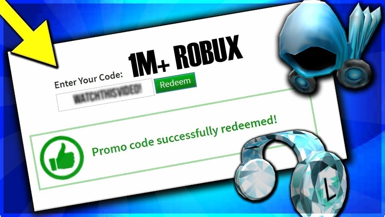 Roblox Promo Code Gives You 1 Million Robux For Free Still Working 2021 In 2021 Roblox Coding Promo Codes