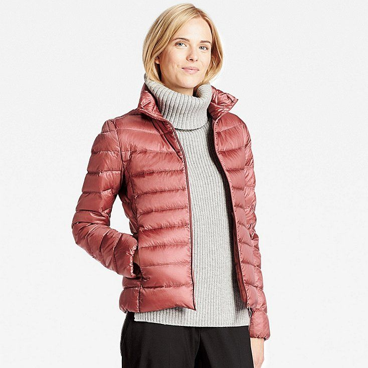 Women ultra light down jacket | Uniqlo, Salmon color and Shopping ...