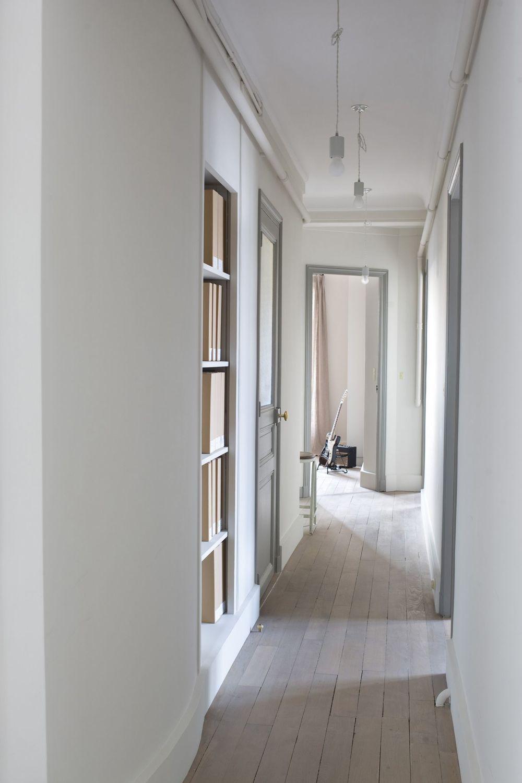 100 Remarquable Idées Peinture Couloir Gris Et Blanc