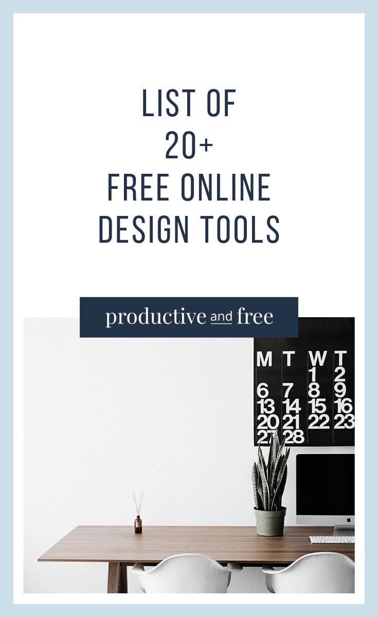 20 Free Design Tools Online Tool Design Google Drive Productivity