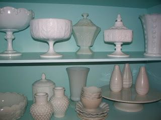 Love Milk Glass