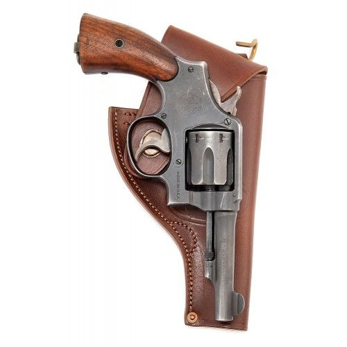 WWII Smith /& Wesson .38 cal Victory Holster U.S USMC