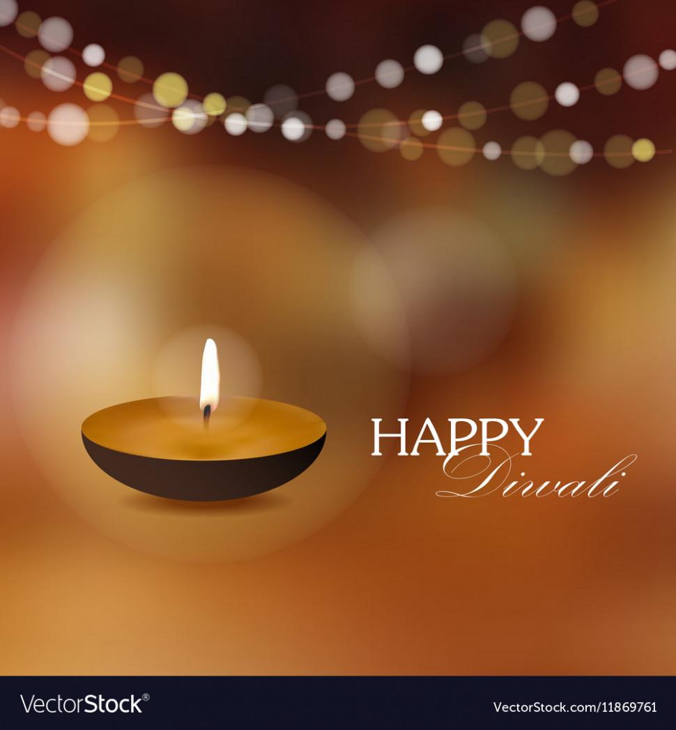 Diwali Greeting Card Invitation With Diya Oil Lamp Diwali Invitation Card Background Diwali Greeting Cards Diwali Greetings Husband Birthday Card