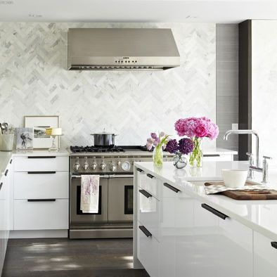 Herringbone Backsplash Design, Pictures, Remodel, Decor And Ideas