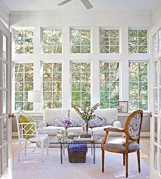 Home Room Addition Ideas: Sunroom Decorating And Design Ideas In 2020