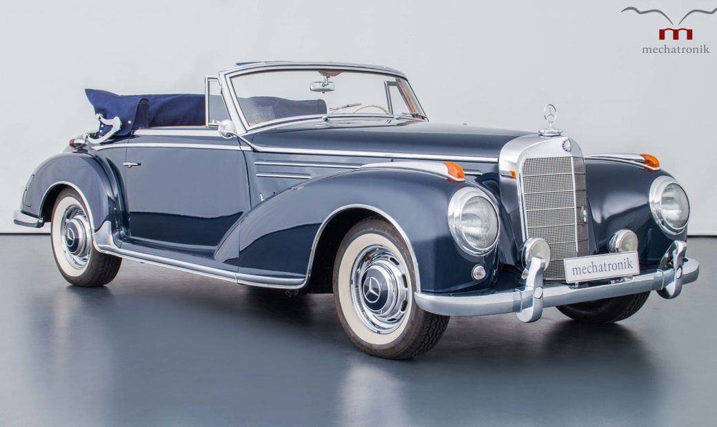 1956 Mercedes Benz 300 In Pleidelsheim, Germany For Sale (10425441) in 2021 |  Mercedes benz 300, Mercedes benz cars, Mercedes benz classic
