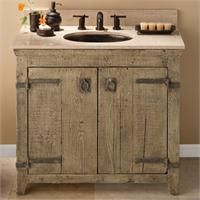 Delightful Bath Vanities   Native Trails   Old World Vanity Collection   Handcrafted  By American Artisans From Reclaimed Wood, Each Old World Vanity Has A  Character As ...