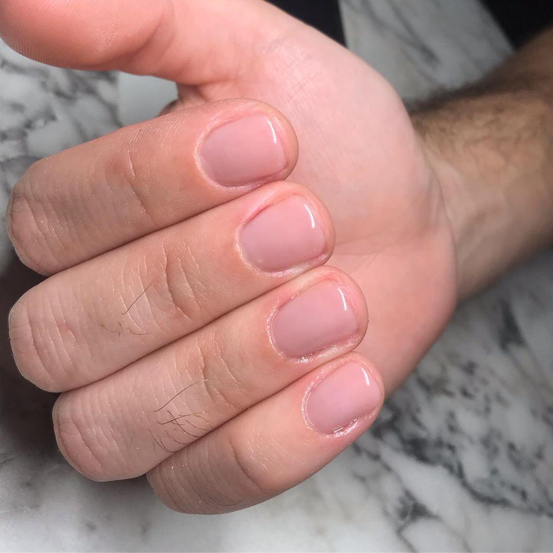 Men's manicure..?? #mensmanicure… | Manicure Mens nails ...