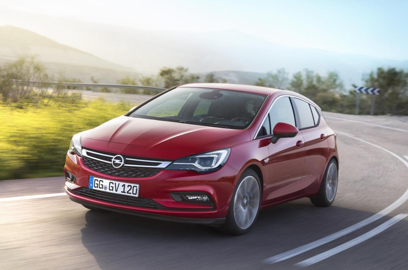Astra K Hatchback Opel specs - http://autotras.com