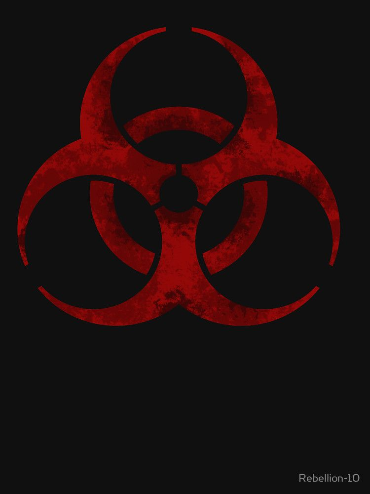 Biohazard Symbol Unisex T Shirt In 2018 Fantasy Pinterest