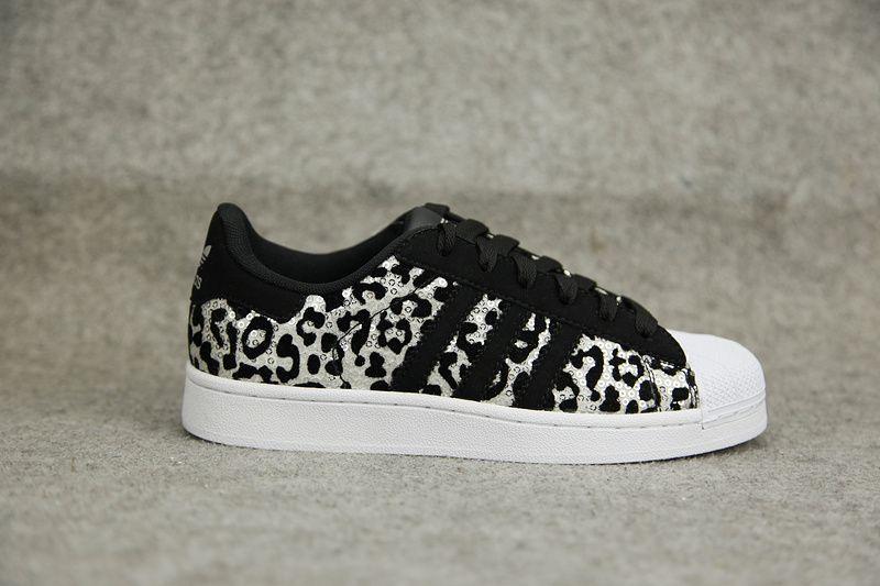 adidas superstar leopard print