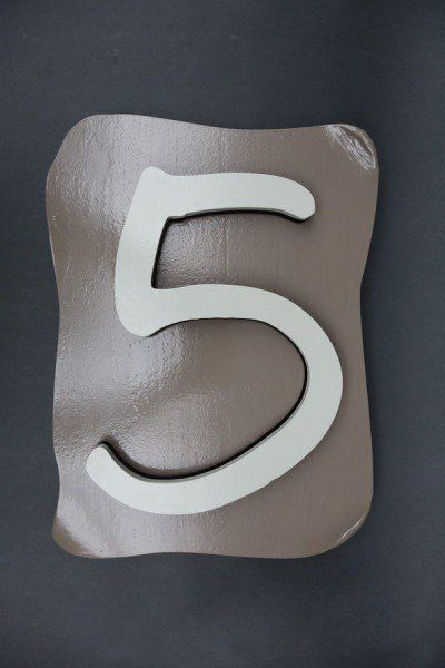 Perfect LED Hausnummer aus Edelstahl house numbers Hausnummern Pinterest Number