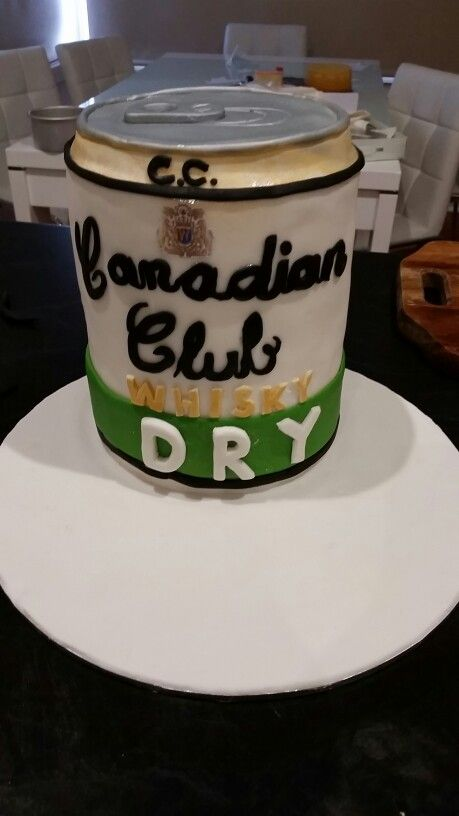 Canadian Club Cake Cakes Pinterest Cake Cake In A Can And Club