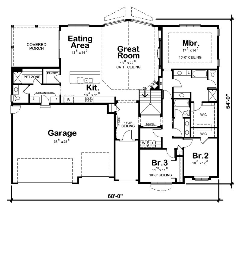 Probuild Home Plans Miramar 2319sq Ft Best Plan With The