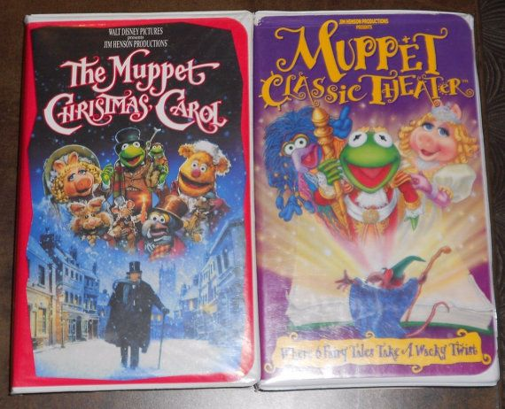 Muppet Christmas Carol Vhs.Pin On Current Vhs 4 Sale