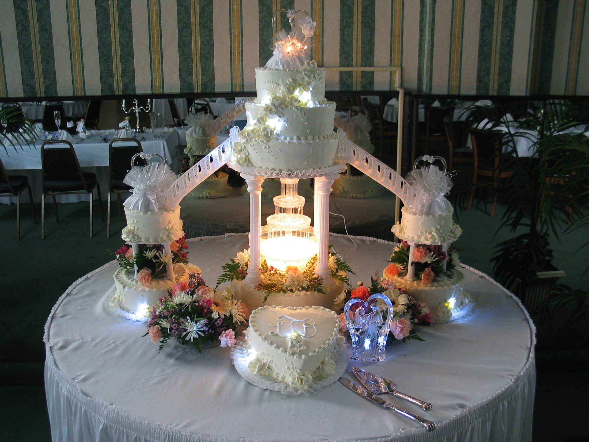 fountain wedding cake decorations Essence of CakesPart 1