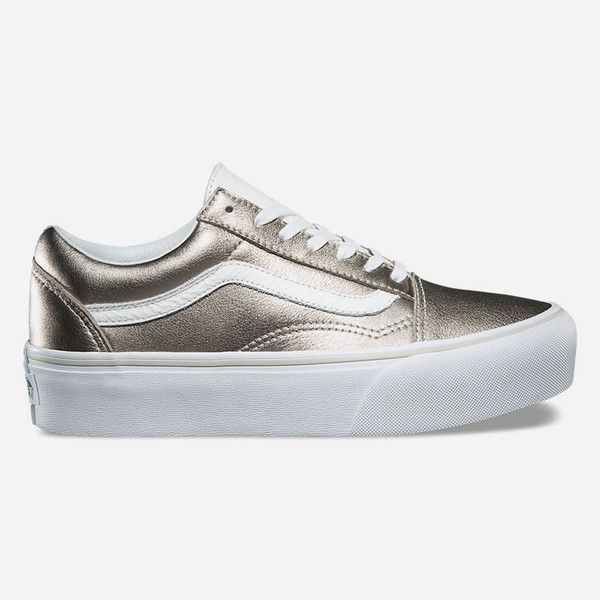 Vans Old Skool Platform Shoes ( 65) ❤ liked on Polyvore featuring shoes c52105d40a