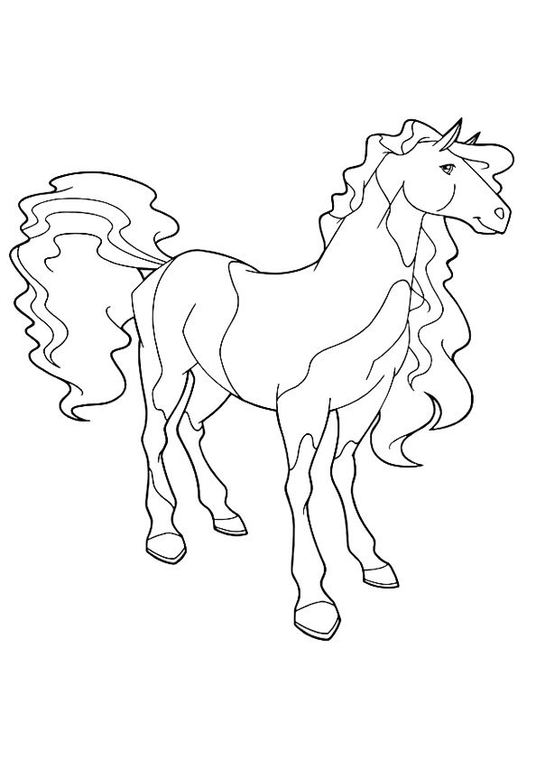 Ausmalbilder Horseland Ausmalbilder Coloring Pages Horse
