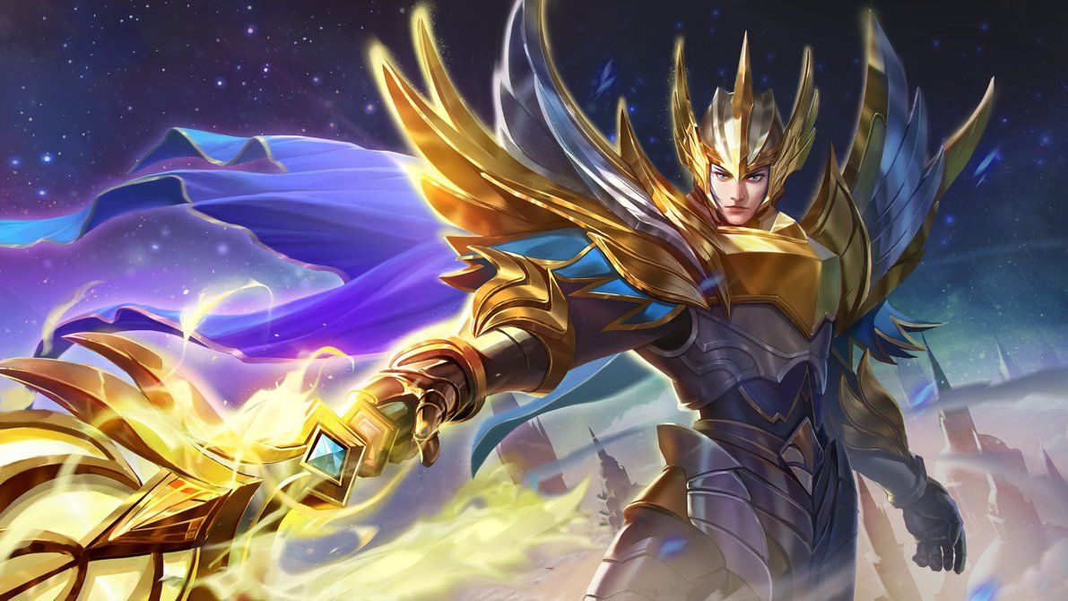 Zilong Glorious General By Makinig Mobile Legends Hero Wallpaper Mobile Legend Wallpaper