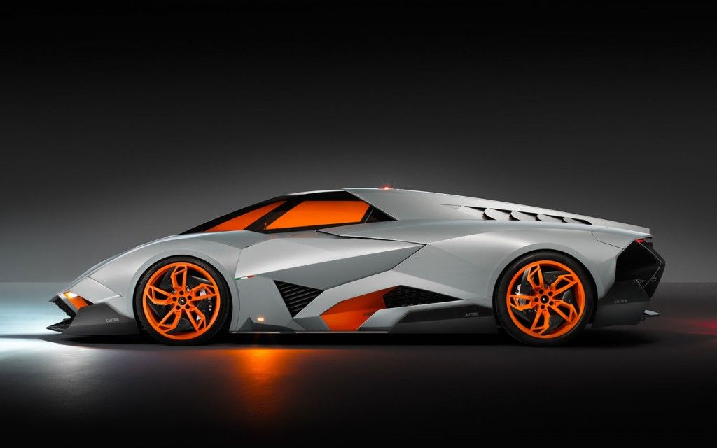 Lamborghini Egoista Left Side View Dream Car Garage Lamborghini