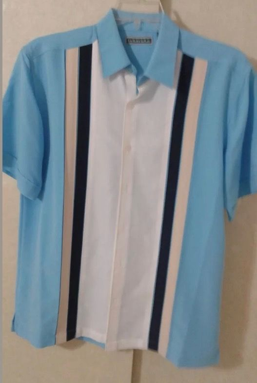 Chet Rock Estilo Vintage Hombres Jeffery Leopard Bowling Shirt Camisa De Bolos