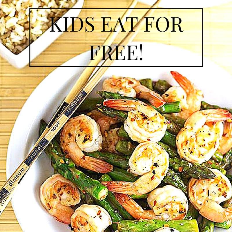 Kids Eat Free! Every Monday from 59PM at China Rose