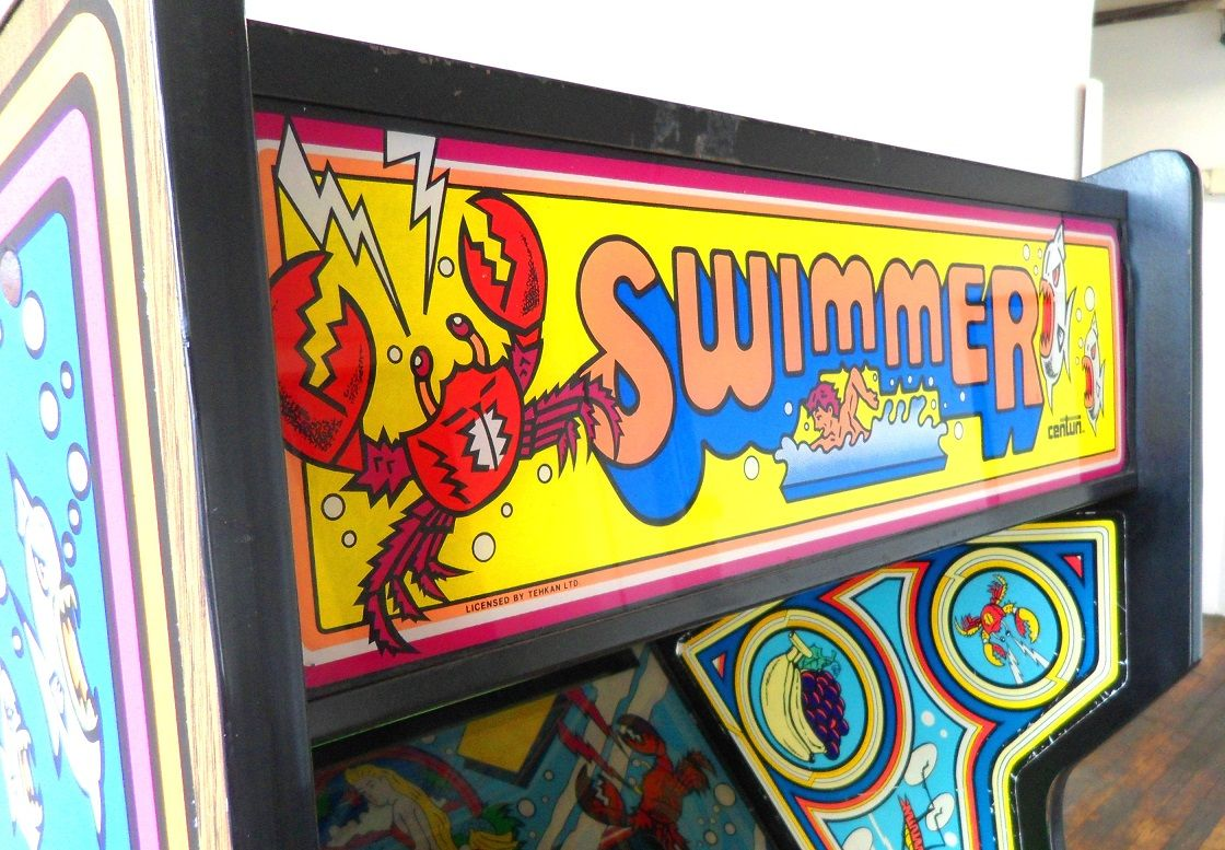 Swimmer Video Arcade Game for Sale Arcade games for sale