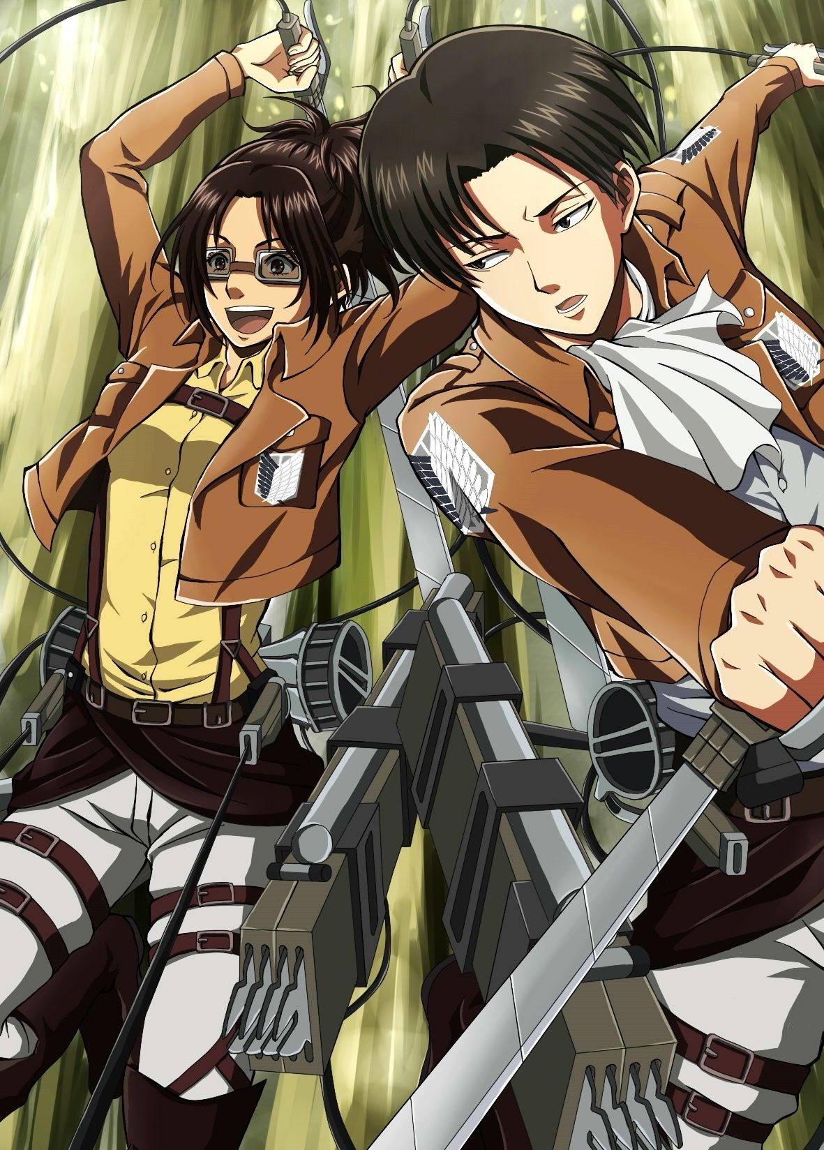 Attack on Titan (Shingeki no Kyojin) - Rivaille (Levi) and ...