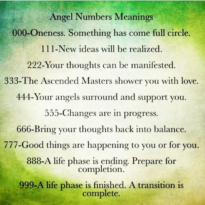 Angel numbers 222 and 333