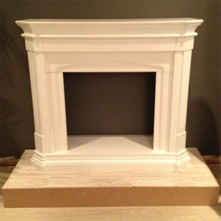 Build your own fireplace surround build a fireplace for Design your own fireplace