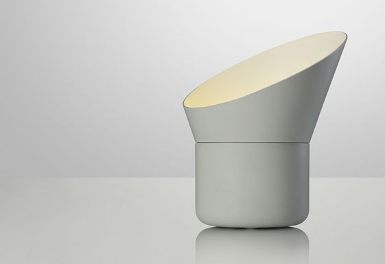 Up table lamp