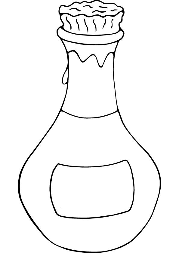 coloring pages perfume - photo#7