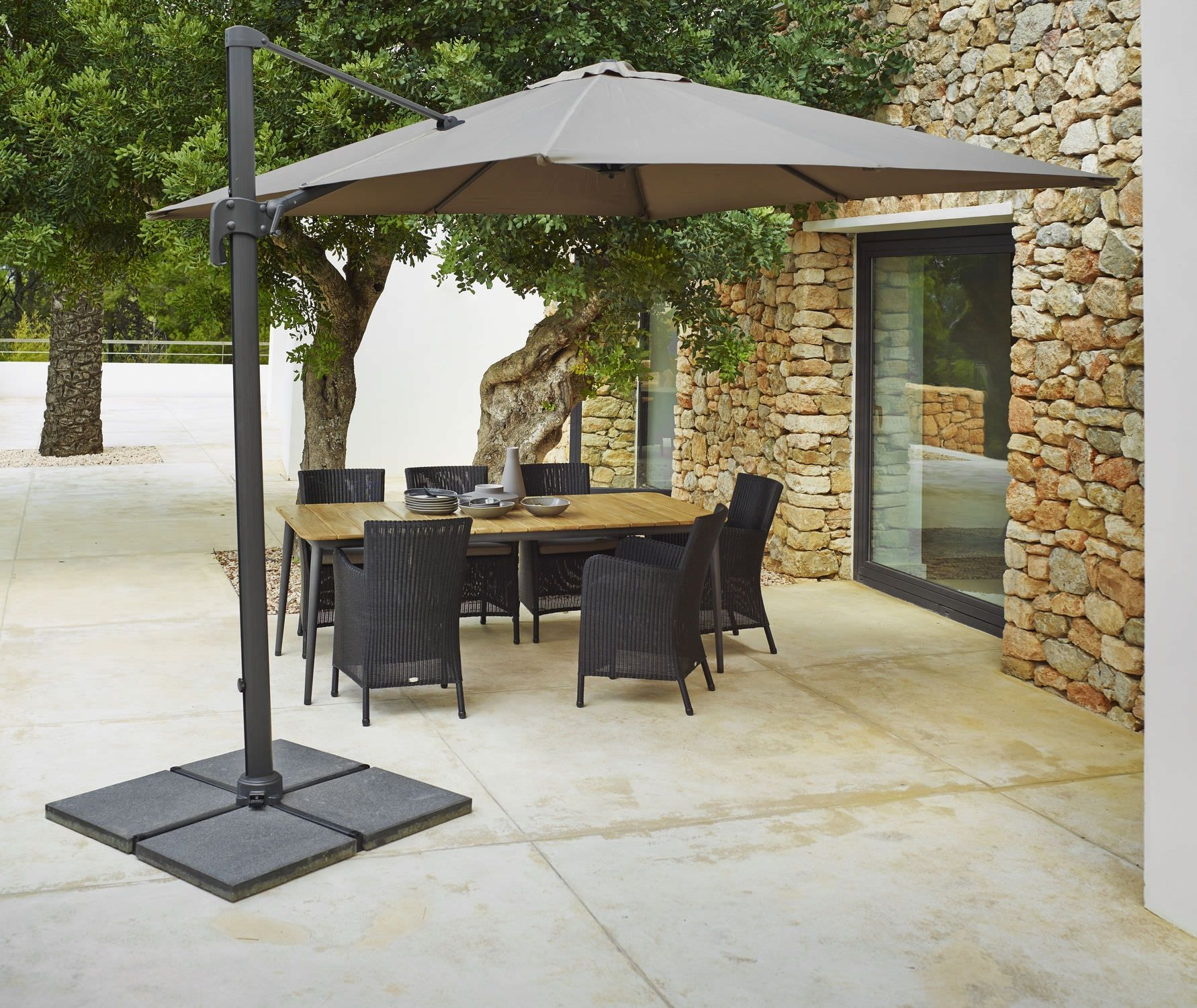 canopy white canada umbrella wide offset porch dark with handler rectangular umbrellas solar replacement lighting lights black outdoor tilt combined foot cantilever delectable rectangle patio