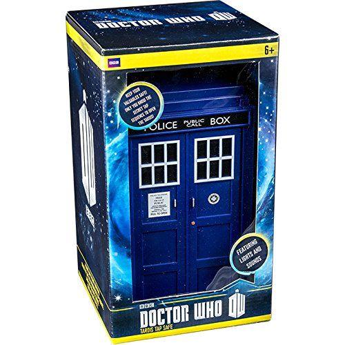 Offizielle Doctor Who TARDIS Tippen Tech Banksafe - Boxed Geschenk ...