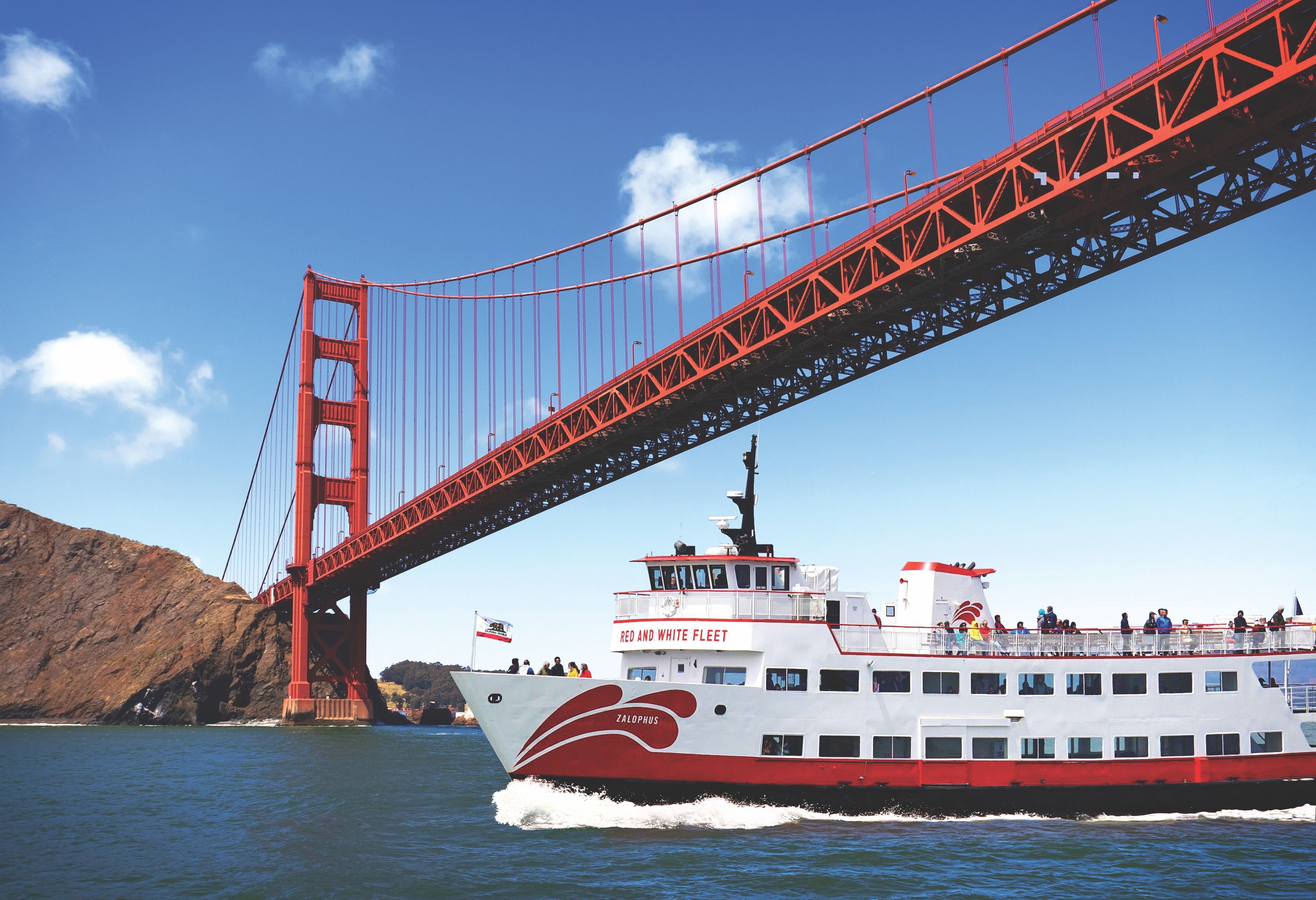 Golden Gate by boat