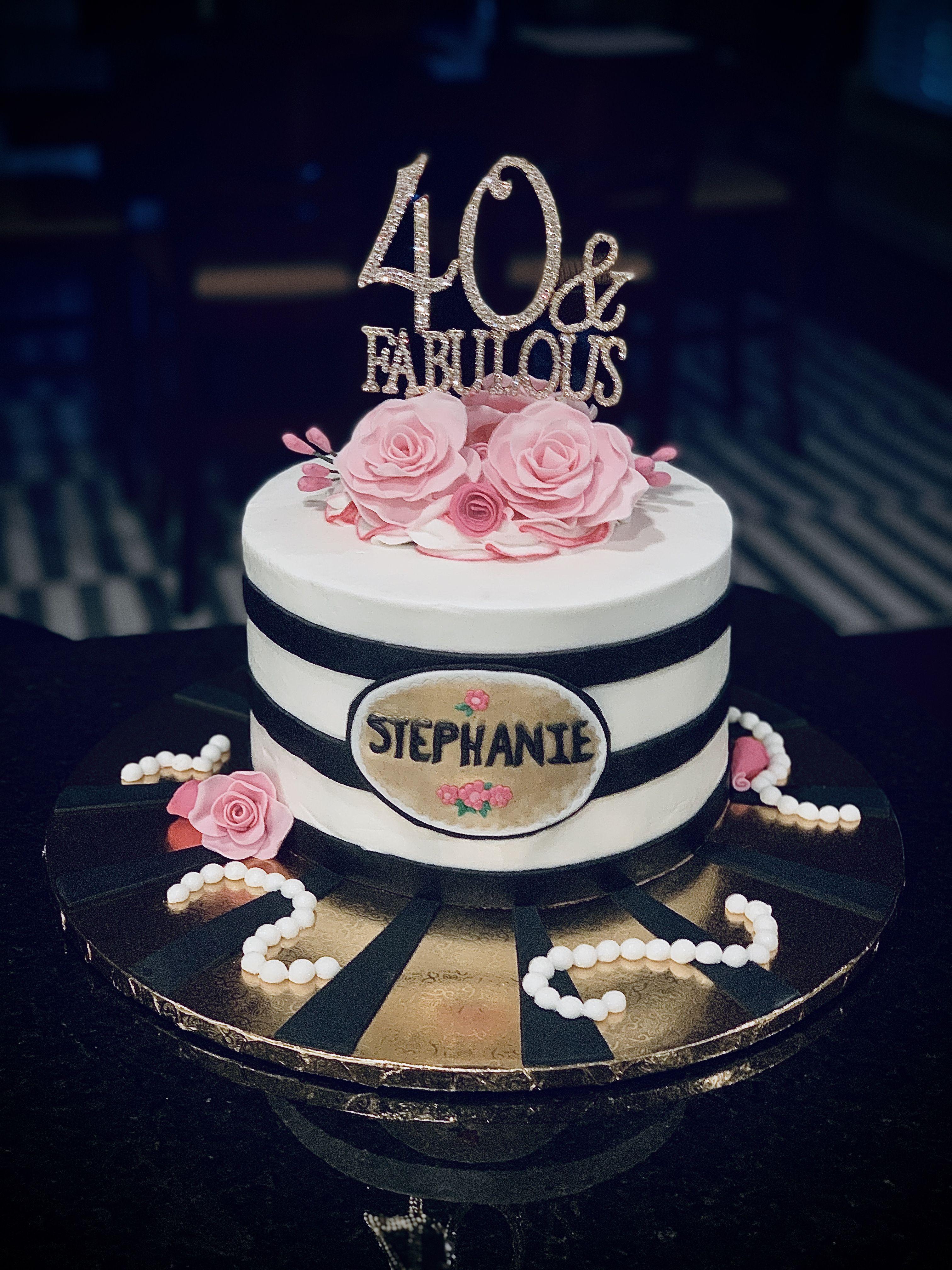 Happy 40th Birthday Stephanie Happy 40th Birthday