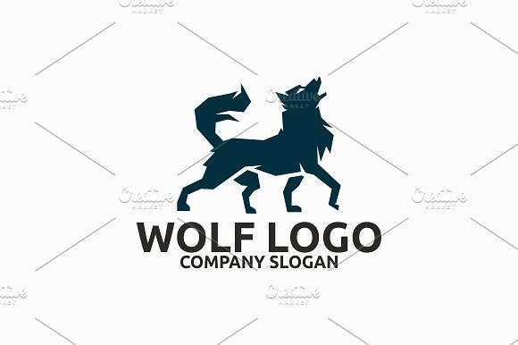 Wolf Logo Logo Templates Typography Logo Business Card Logo