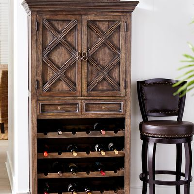 Danica Tall Wine Cabinet  For the Home  Wine cabinets